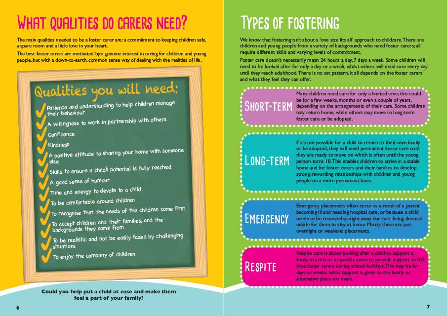 Bridgend Foster Care - United Graphic Design - Graphic
